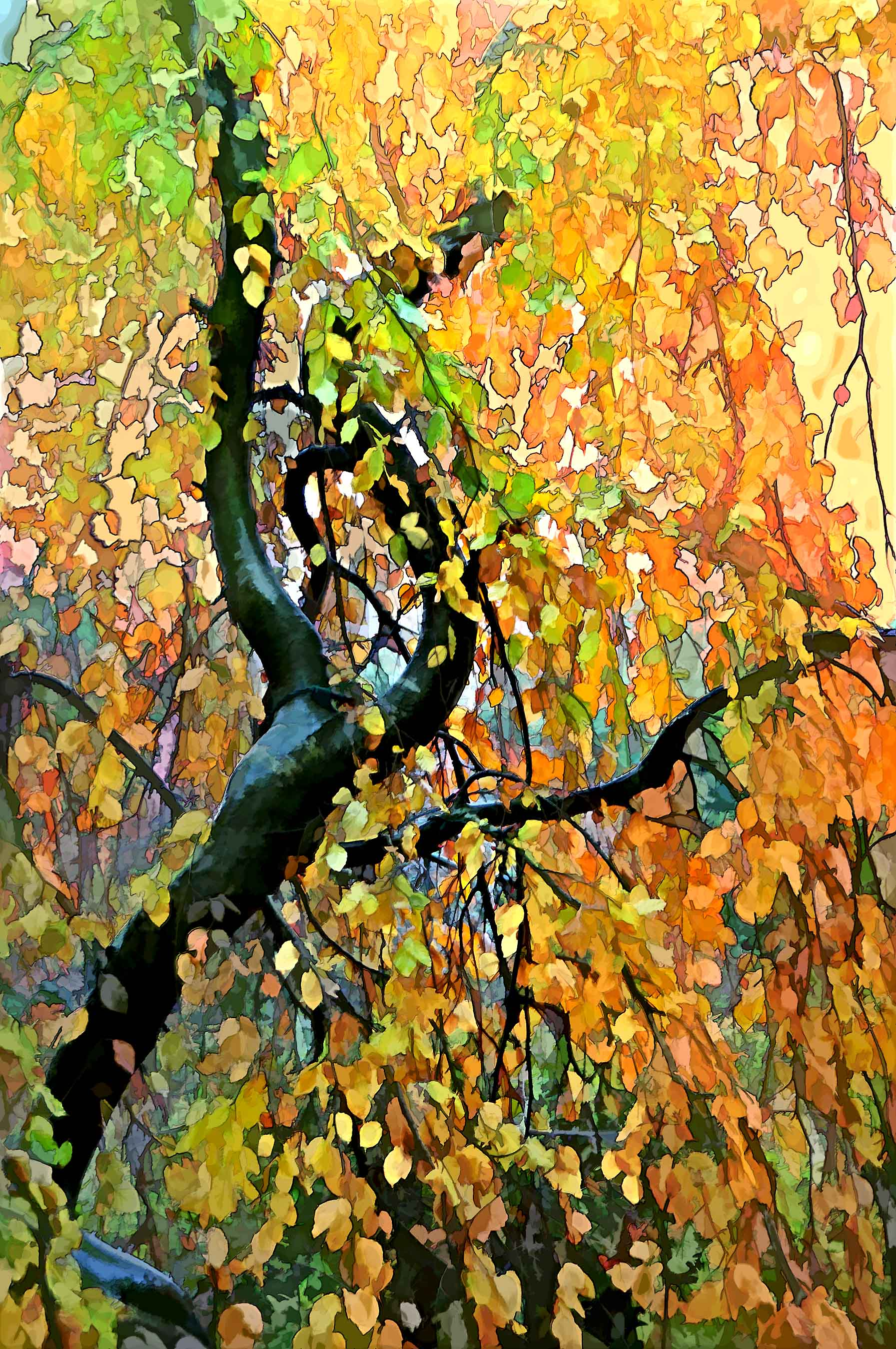 Neil Fatin FALL TAPESTRY